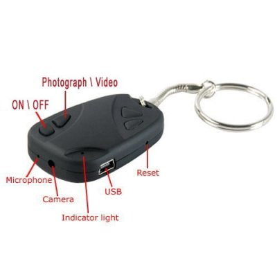 4GB Keychain Car Remote Digital Video Recorder Spy Camera